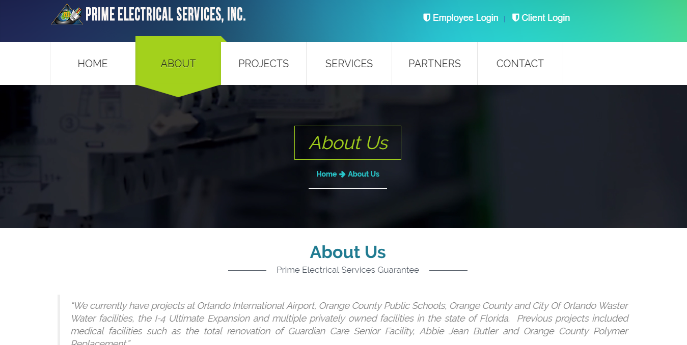 Prime Electrical Services, Inc.